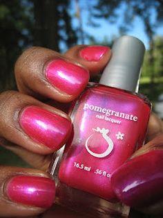 Nail Polish Anonymous: Pomegranate Nail Lacquer Princess of Persia