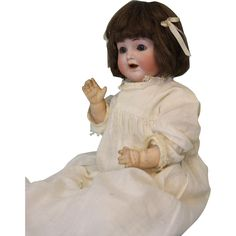 "Antique 13"" ABG 1361 ""Sweet Nell"" German Bisque Doll Alt, Beck & Gottschalck - Antique 13"" ABG 1361 ""Sweet Nell"" German Bisque Doll Alt, Beck & Gottschalck"