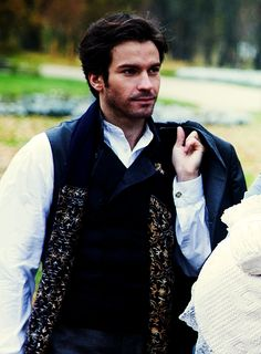 Fabulous Santiago Cabrera as Count Vronsky in Anna Karenina