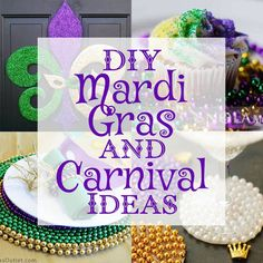 No matter if Mardi Gras is traditionally celebrated where you come from: Masquerade parties are pretty awesome! Here are some DIY projects to rock them. 13th Birthday Parties, Birthday Party For Teens, Birthday Party Games, Teen Birthday, Mardi Gras Carnival, Mardi Gras Party, Glow Party, Diy Party, Mardi Gras Pictures