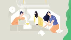 We all love stories on Behance