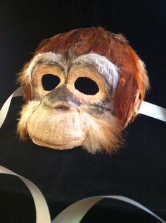 Orangutan / Venetian Specialty Custom Animal от MaskedEnchantment