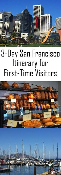 There is so much to do in San Francisco most visitors don't know where to start. Here is a 3 Day San Francisco Itinerary guide for first time visitors. San Francisco Travel Guide, San Francisco Union Square, San Francisco Girls Trip, San Francisco Tours, San Francisco Food, New Orleans, Voyager Seul, Las Vegas, Wanderlust