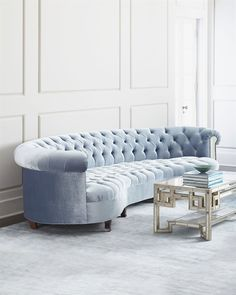 Shop Rebecca Mirrored Tufted Sofa from Haute House at Horchow, where you'll find new lower shipping on hundreds of home furnishings and gifts. Mirrored Furniture, Home Furniture, Furniture Design, Antique Furniture, Handmade Furniture, Rustic Furniture, Contemporary Furniture, Luxury Furniture, Furniture Makeover