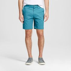Men's 8 Club Shorts Turquoise 32 - Merona