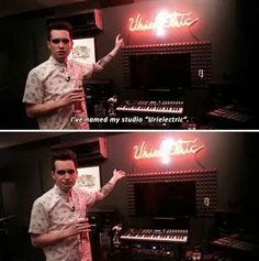 Because he's Brendon Urie