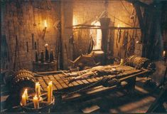 The other day, as I was surfing through pictures of medieval torture devices (don& ask), I kept noticing that many such tools were invented by, or at least used in, the Spanish Inquisition. Soon I found myself jumping from one site to another. Man Of La Mancha, Maleficarum, The Inquisition, Theme Halloween, Halloween Stuff, Names Of God, Dark Ages, Story Inspiration, Design Inspiration
