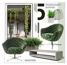 """""""Feel Green"""" by vinograd24 ❤ liked on Polyvore featuring interior, interiors, interior design, home, home decor, interior decorating, New Growth Designs and Authentics"""