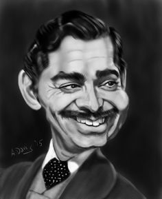 Clark Gable by adavis57