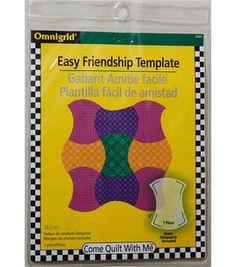 Omnigrid Friendship Curve Template
