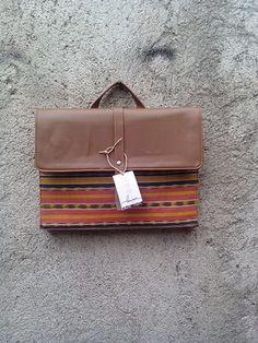 Laptop bag from tenun jepara #ikat #tenun #tenunjepara