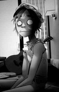 2D- The Fall  The artwork put into Gorillaz is breathtaking and beautiful