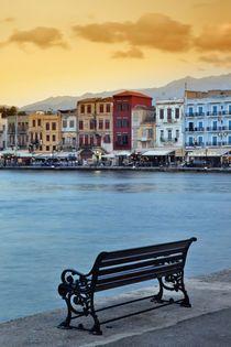 Chania at dusk ~ Crete, Greece