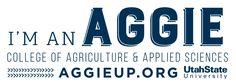I'm an Aggie banner