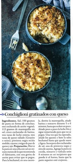 Pasta, Queso, Macaroni And Cheese, Veggies, Breakfast, Ethnic Recipes, Food, Butter, Milk