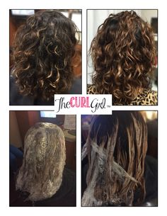 Curly balayage by #thecurlgirl florida's curly hair expert
