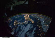 Las luces de la Tierra vistas desde el espacio (FOTOS)