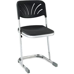 National Public Seating NPS 18-inch Z Stool with Backrest