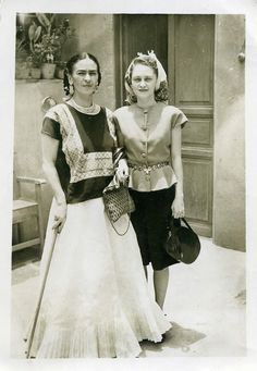Frida Kahlo & Sister