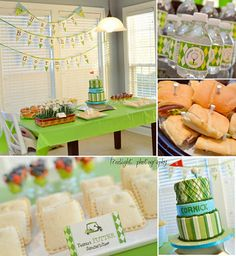 golf... Adorable party idea for later years!!