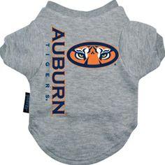 Auburn Tigers Dog Tee Shirt