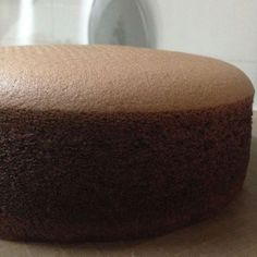 Chocolate Spongecake (cooked dough method)