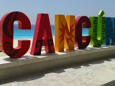 """Live in the US, Mexico or Canada? Have a picture in front of this Cancun sign (located on Playa Delfines beach)? Then sign up to our """"Yo Amo Cancun"""" contest on FB for a chance to win a trip back! http://promo.st/1r4s5qy"""