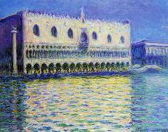 Oscar-Claude Monet Palazzo Ducale, 1908
