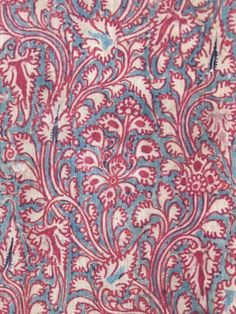 HAND-PAINTED MORDANT-DYED,  AND RESIST-DYED HANDSPUN COTTON  COROMANDEL COAST OF INDIA, 18C  FOR THE SOUTHEAST ASIAN MARKET