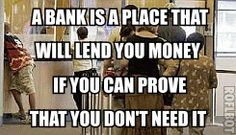 A gentleman walks into a #bank and says he wants to borrow... #humor #jokes