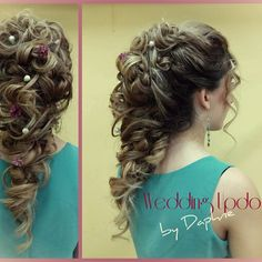 Professional Wedding Updo for Summer! By Daphne