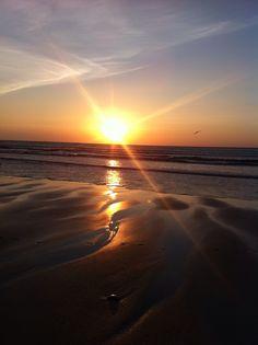 Sunset, Beach, Cornwall