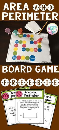 Great Freebie to practice area and perimeter!