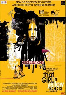 That Girl In Yellow Boots Hindi Movie Online - Kalki Koechlin and Naseeruddin Shah. Directed by Anurag Kashyap. Music by Naren Chandavarkar. 2011 [A] ENGLISH SUBTITLE