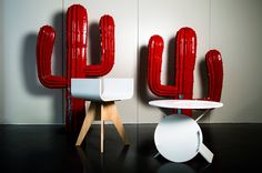 Taboustool + Your Service, by Thierry Wille.