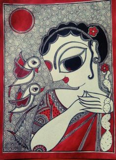 By Aparajita sharma Madhubani folk art Bihar, India