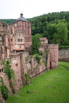 #Heidelberg Castle, #Germany                                                                                                                                                      Mehr