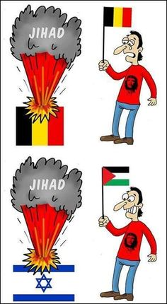 Belgian cartoonist Patrik Mellemans gets it. Terror is terror and we all must unite against it where ...