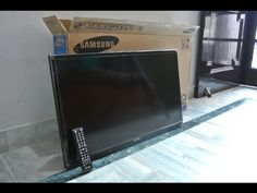 "LG 32"" SMART LED TV - UNBOXING AND FIRST USE 2015 (LG 32B 5820) - YouTube"