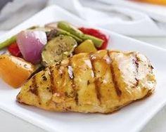 Blancs de poulet laqués au miel et sésame facile : http://www.cuisineaz.com/recettes/blancs-de-poulet-laques-au-miel-et-sesame-facile-72270.aspx