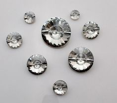 4 pcs Special buttons 20mm by MissWater, $3.22 USD