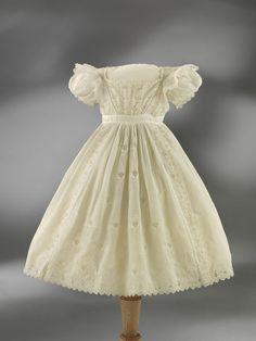Child's dress, 1825-30