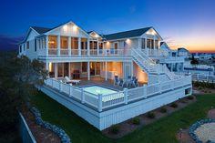Marnie Custom Homes, Bethany Beach, Delaware.-SR