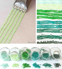 Use a multi-tip to make your own sprinkles! Hey Maynard - check this idea for homemade sprinkles! Icing Frosting, Cake Icing, Frosting Recipes, Eat Cake, Cake Decorating Techniques, Cake Decorating Tutorials, Cookie Decorating, Decorating Cakes, Dessert Decoration