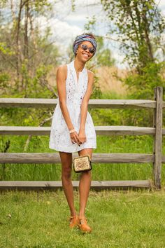 50 Lawn-Party Outfits Gatsby Would Approve Of #refinery29  http://www.refinery29.com/veuve-clicquot-polo-classic#slide33  Dainty and darling, but not at all too sweet.