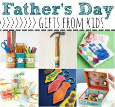 15 Fantastic Father's Day Gift Ideas from Kids