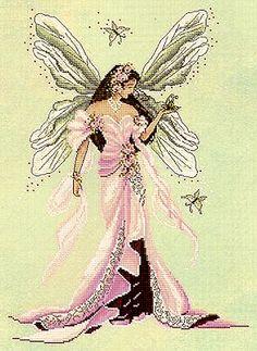Dawn, Fairy Spirit of Grace - Cross Stitch Pattern