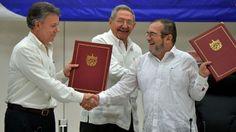 Puntos de negociación Gobierno y FARC de Colombia llegan a su fin