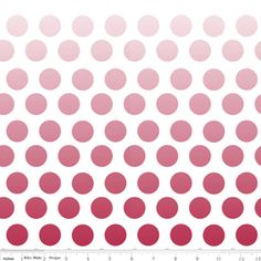 ombre dots... who's in?!?!?!?  Riley Blake Designs: C310-80
