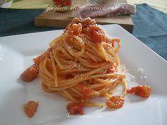 Spaghetti all'Amatriciana ricetta regionale